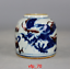 Asia China antique Collection Qing Dynasty Blue and white Dragon Cans