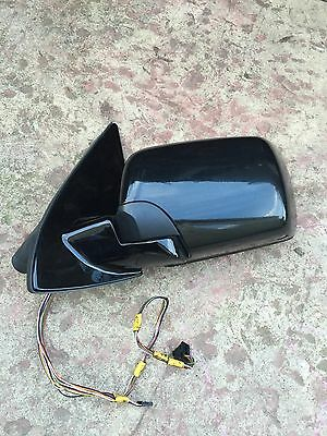 00-06 BMW E53 X5 Driver Left Sunvisor Black OEM 6905983