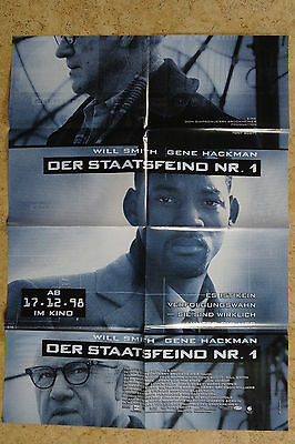 (p145) Kinoplakat Der Staatsfeind Nr. 1 (1998) Will Smith, Gene Hackman