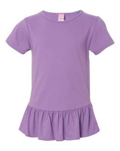 2627 Girls/' Ruffle T-Shirt LAT