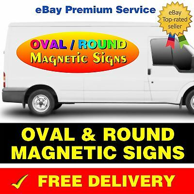 Round Magnetic Vehicle Car Van Lorry
