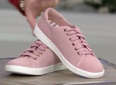 Vionic Water Resistant Suede Lace-up