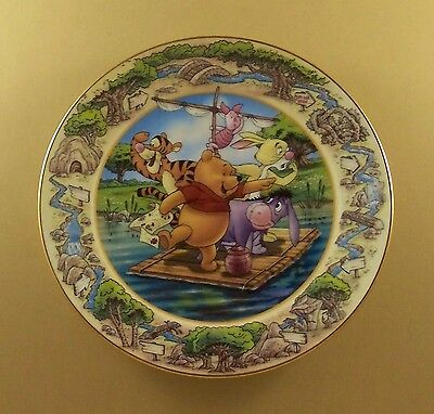 Winnie Pooh To The Rescue A Grand Adventure in Search of Christopher Robin Plate