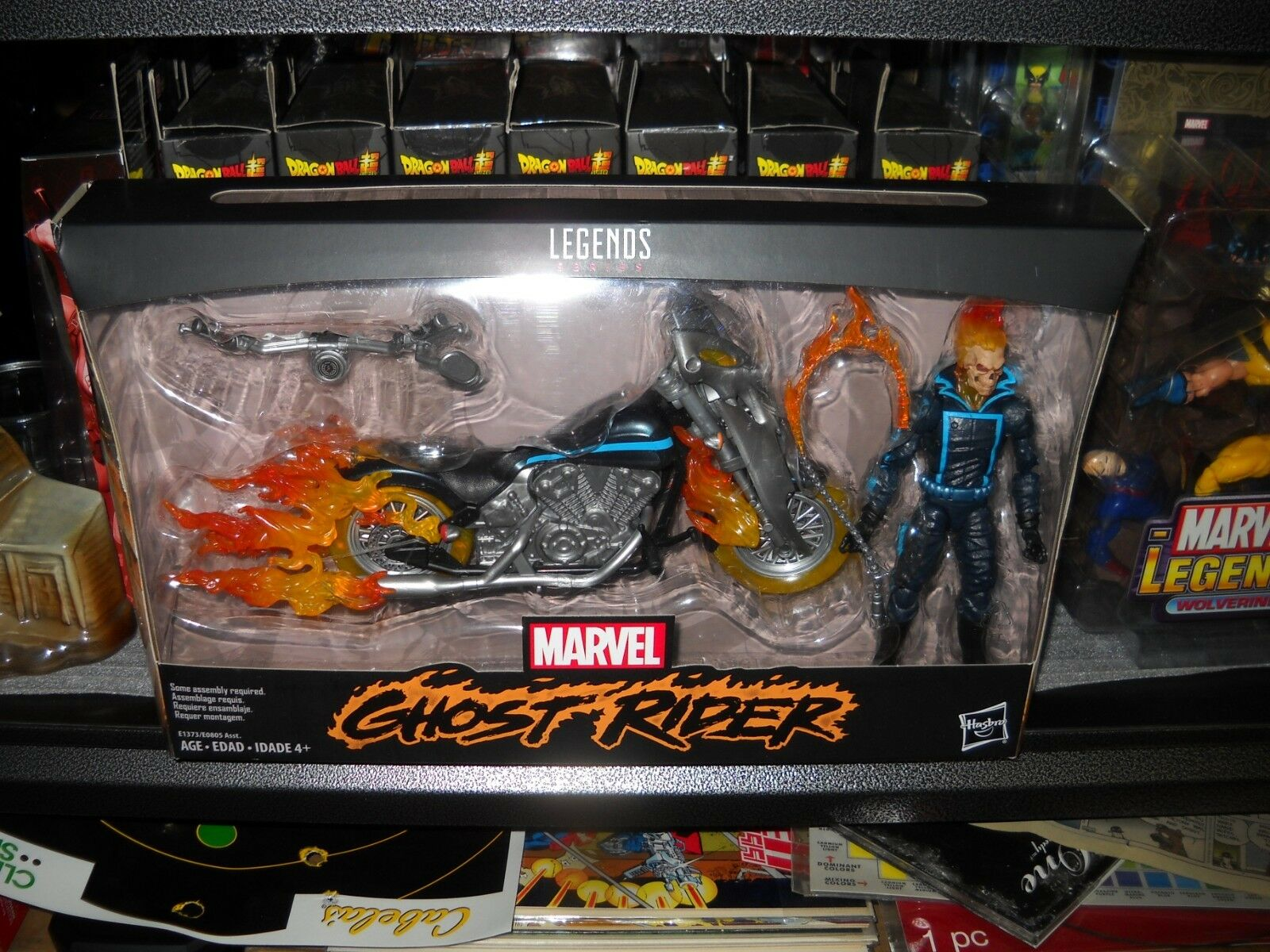 MARVEL LEGENDS GHOST RIDER NIB HASBRO