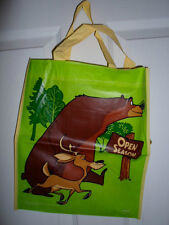 LOT 4 BAGS OPEN SEASON PLASTIC BIRTHDAY TOTE LOOT PARTY GIFT BAGS NWT