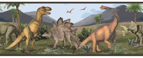 Dinosaur Wallpaper Border SK6409BD Walking with Dinosaurs