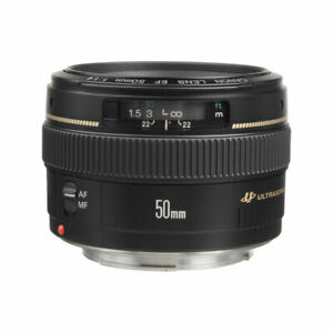 Canon-Normal-EF-50mm-f-1-4-USM-Autofocus-Lens-for-Canon-Cameras