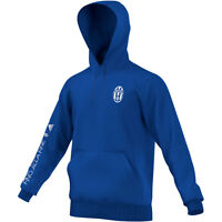Adidas Juventus 2016 - 2017 Core Limited Edition Hooded Top Royal Blue / White