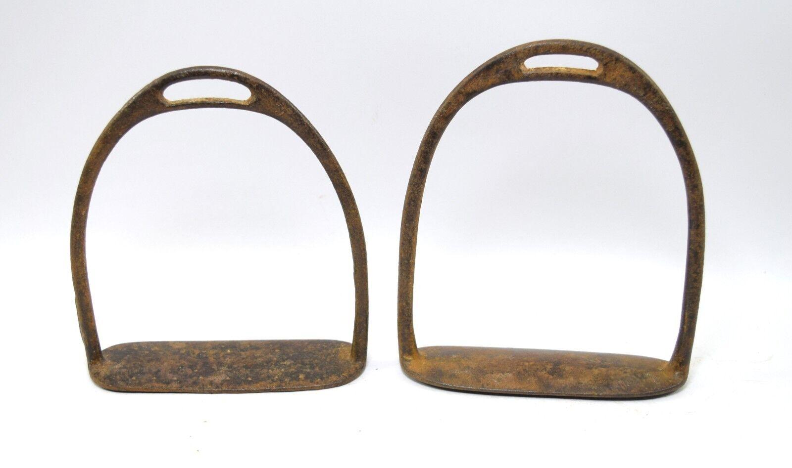 Pedal De De Pedal Caballo De Buena Vintage Coleccionables estribo Par Granja nos Decoración. G42-165 584421