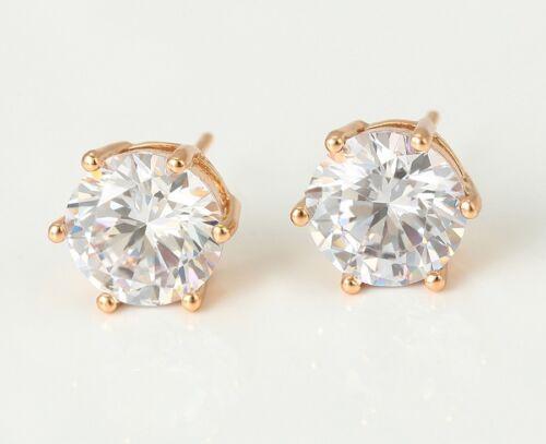 "made with Swarovski Crystal Earring 542g 6 SALE 9ct 9K /"" Gold Filled /"" Men 4"