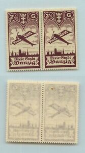 Danzig-1921-SC-C30-mint-no-gum-pair-g1221