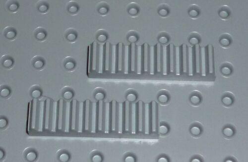 GEAR Rack 1 x 4 TK891 LEGO TECHNIC 3743 LIGHT BLUISH GREY x 2