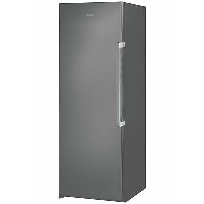 Hotpoint UH6F1CG Free Standing 222L Frost Free Tall Upright Freezer - Graphite.