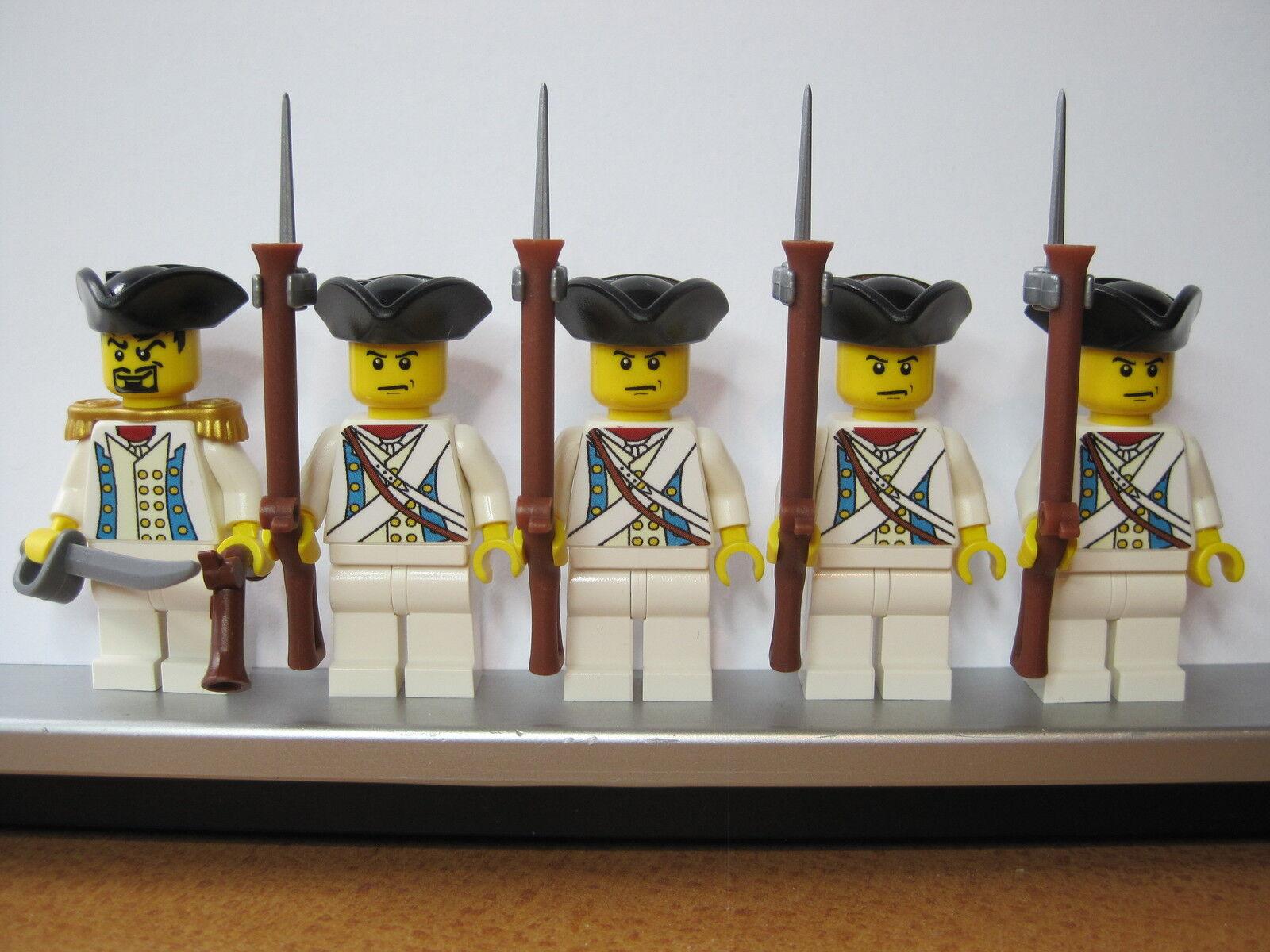 Lego PIRATES NAPOLEONISKA VAROR ÖSTERRIKE musketör infanterisoldater MINISTRAR