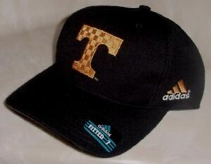University-Tennessee-Volunteers-Hat-Fitted-Size-7-Adidas-Black