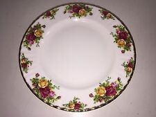 """Set of 6 Royal Albert: Old Country Roses - 10.5"""" Dinner Plates 1962"""