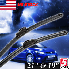 New Windshield Wiper Blades 21 And 19 Inch J Hook Oem Quality Us