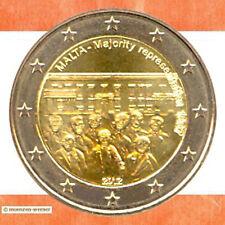 Sondermünzen Malta: 2 Euro Münze 2012 Mehrheitswahlrecht Sondermünze Gedenkmünze