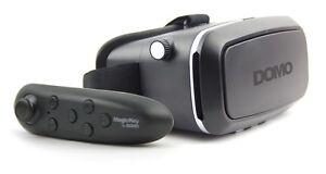 COMBO-Offer-DOMO-nHance-VR7-BC2-Remote-3D-Video-VR-Headset-Google-Cardboard