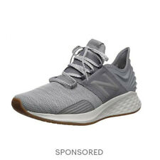 NEW BALANCE Fresh Foam Roav Knit Running Sneaker Men Gunmetal Gray