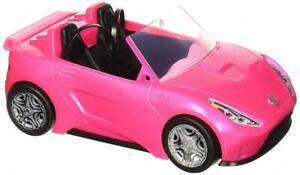 Barbie Cabrio Glamour Auto Due Posti con Dettagli Realistici Colore Rosa
