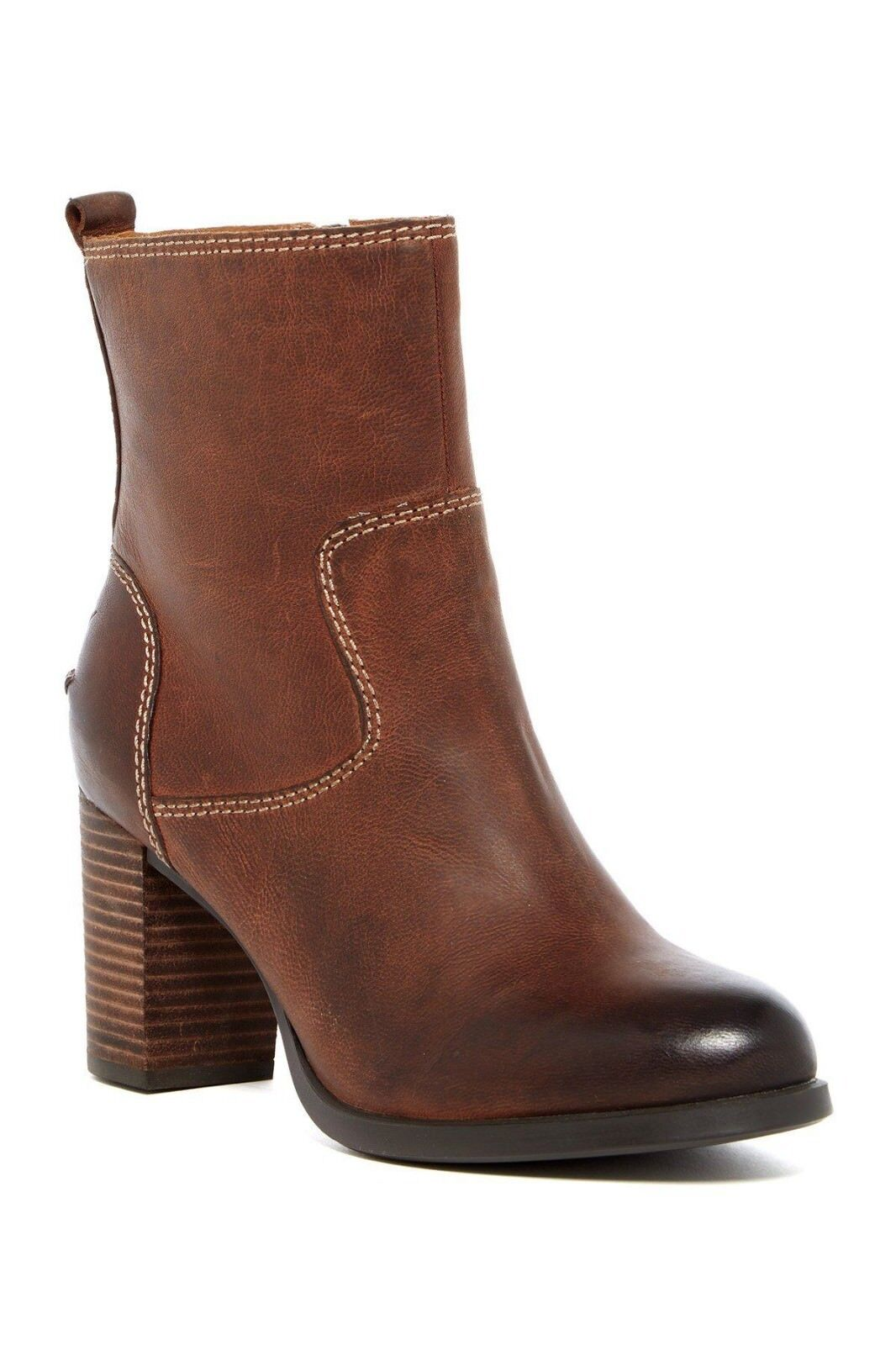 SPERRY TOP-SIDER Heeled Ankle Booties Dasher Grace Braun Leder Heeled TOP-SIDER Stiefel 9 New 746a81