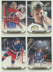 2015-16 Upper Deck Series 1 Series 2 Canvas YOU CHOOSE Finish Your Sets