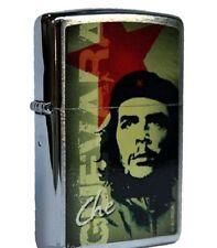 ACCENDINO ZIPPO CHE GUEVARA IN GREEN Lighter Fiamma Cuba Fidel Castro 024 810471
