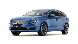 1-18-scale-volvo-v60-t5-Wagon-Blue-DIECAST-Model-car-Toy-Collection