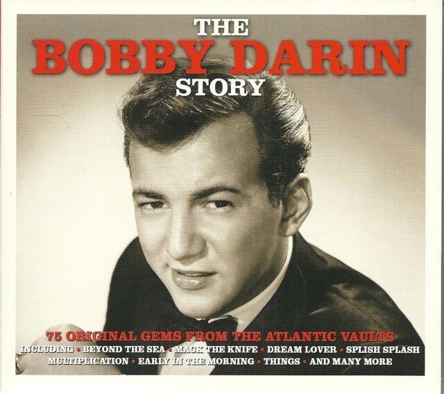 THE BOBBY DARIN STORY - 3 CD BOX SET - 75 ORIGINAL GEMS FROM THE ATLANTIC VAULTS