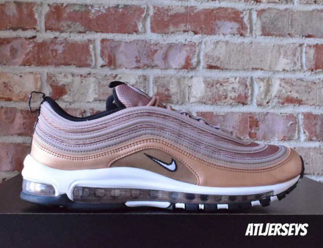 NIKE AIR MAX 97 (DESERT DUST WHITE METALLIC RED BRONZE BLACK)