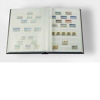 16 Weißeseiten Unwattierter Einband,schwarz Hochglanzpoliert Motiviert Leuchtturm Einsteckbuch Din A4