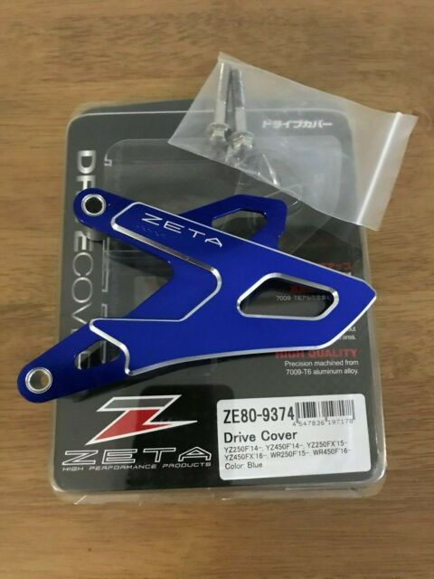 Yamaha Wrf 450 2016-2020 ZETA Lecteur Housse Pignon Protection Bleu