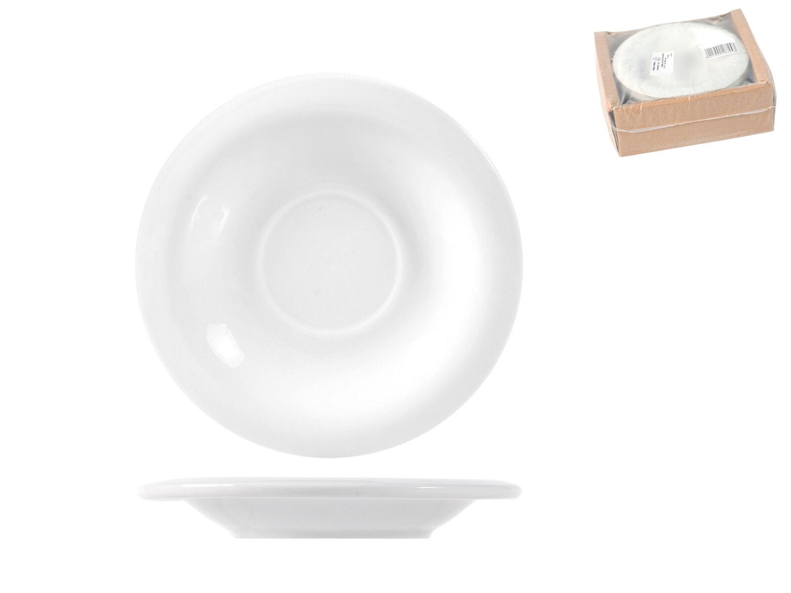 PANFILI Confezione 6 piattini per tazzine tè porcellana pisa