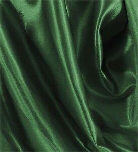 """100 YARDS 60/"""" HUNTER GREEN SHINY BRIDAL SATIN FABRIC"""