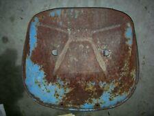 Vintage Fordson Super Major Diesel Tractor Seat Pan Amp Flip Up Btkt Assembly