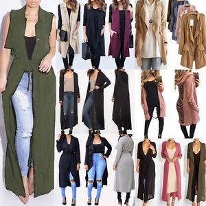 Vogue-Women-Fall-Slim-Fit-Thin-Trench-Coat-Jackets-Outwear-Overcoat-Windbreaker