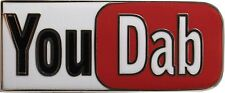 Ten (10) (You Tube) You Dab BHO Cannabis Marijuana Hat pins.