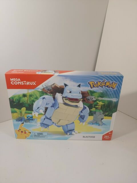"Brand New Mega Construx Pokemon ""BLASTOISE"" 284 Pieces FPM99"