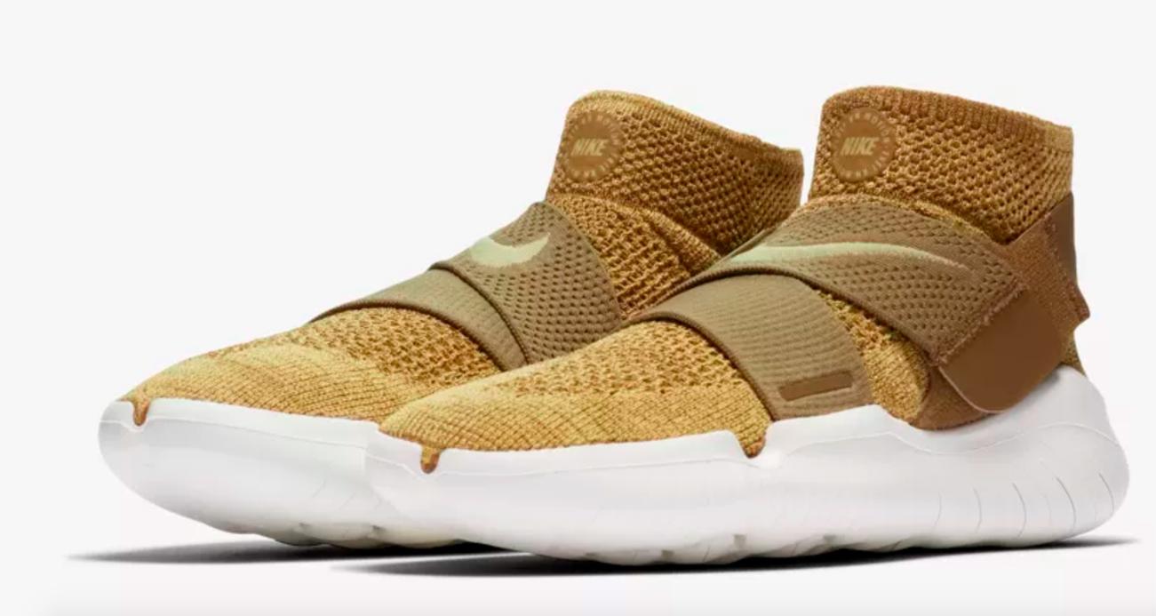 Nike Free RN RN RN Motion Flyknit 2018 Men's Running shoes 942840-201 golden Beige 11 abc79c