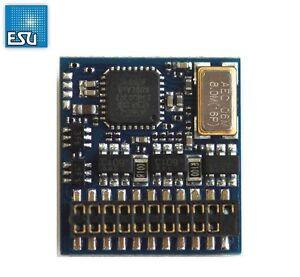ESU-54621-LokPilot-Fx-V4-0-Funktionsdecoder-MM-DCC-SX-21MTC-Schnittst-NEU-OVP
