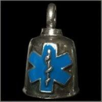Pewter Motorcycle Gremlin Bell Ems Emergency Medical Services Symbol Made In Usa