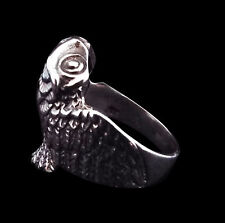 Sterling Silver Wrap Around Owl Ring