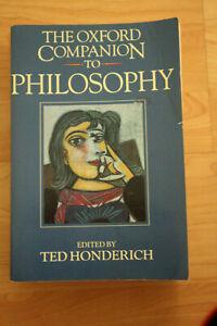 The-Oxford-Companion-to-Philosophy-0198661320-Taschenbuch-auf-Englisch