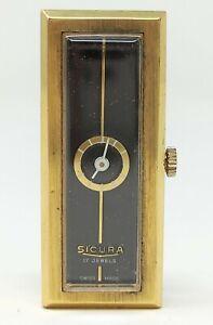 Orologio-Sicura-mechanical-watch-vintage-clock-movimento-svizzero-17-rubis-sic40
