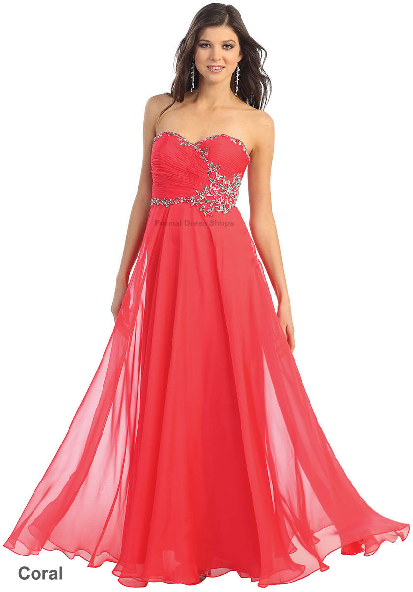 SALE    EVENING FORMAL GOWN PROM SPECIAL OCCASION MAID OF HONOR BRIDESMAID DRESS