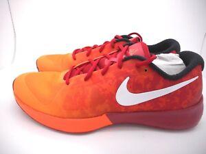 Nike Zoom Speed TR NRG 630851 002 Men's Size 9.5 Total Orange / Gym Red