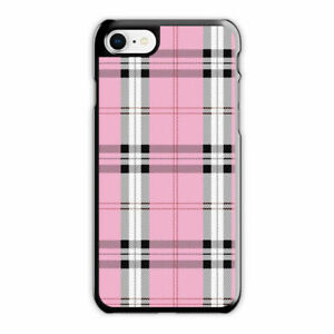 finest selection ff69c f8647 Details about Wildflower Pink Plaid Phone Case fit for iPhone 6s 6Plus 7 8  Plus X Case/Cover