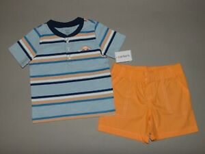 Nwt Baby Boy Clothes 18 Months Carter S 2 Piece Set See Details On Size Ebay
