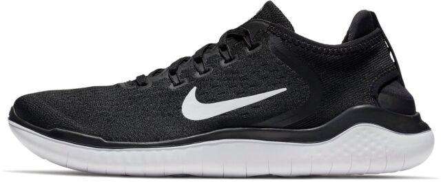 Nike MEN'S Free Run RN 2018 Shoe Sneakers BlackWhite 942836 001 Sz 9 13 NIB